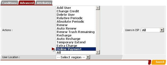 Report Of Online Payment by checking of Credit Change.jpg